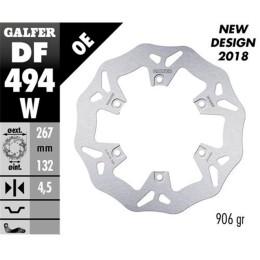Disco de freno trasero Wave XP 500 T-Max Galfer