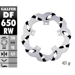 Disco de Freno Galfer Extreme Wave, D30, (DF650RW); Piaggio Fly / Hexagon / Zip SP