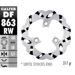 Disco de Freno Galfer Extreme Wave ranurado, D21 (DF863RW), SPEEDFIGHT