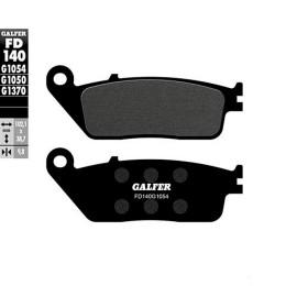 Pastillas de freno Galfer, orgán. Negra, delant. Honda S-Wing 400 / Satelis / Triumph