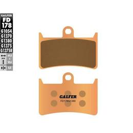 Pastillas de freno Galfer (FD178G1380), SINTERIZADA, delant. YAMAHA T MAX 500 4T LC 2008 y 2012
