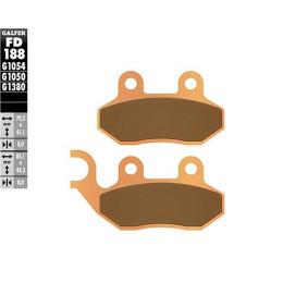 Pastillas de freno Galfer - Metal sinterizadas, Delantera Sym Symphony, HD, CityCom, JET,  125-200cc, Peugeot Tweet 125/150cc