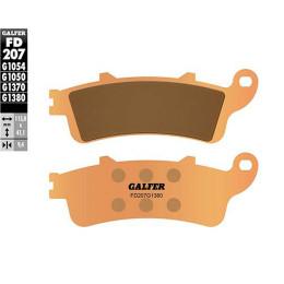 Pastillas de freno Galfer - Metal sinterizadas, HONDA PANTHEON 125 ie 4T LC (´03-) 150, Silverwing