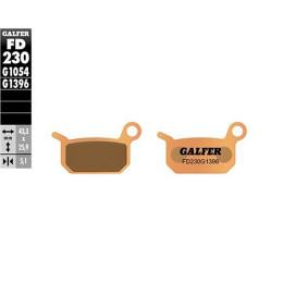 Pastillas de freno Galfer Sinterizadas Off-Road - KTM SX 65cc Traseras (04-08) y a partir del 09
