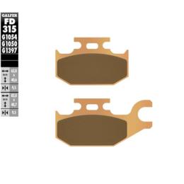 Pastillas de freno FD315G1397 Galfer
