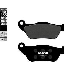 Pastillas de freno Galfer, orgán. negra, delant. YAMAHA X MAX 125/250 4T LC