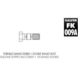 Tornillo banjo doble M10x1.00 Galfer
