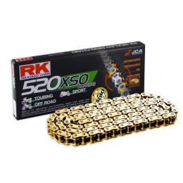 Cadena RK GB520XSO con 114 eslabones oro