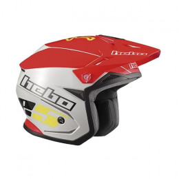 Casco Trial ZONE 5 HC1113R - Rojo