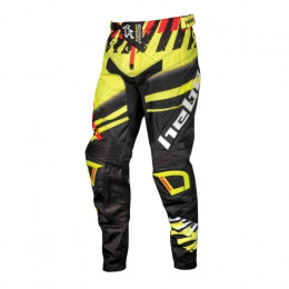 Pantalón Cross junior Hebo Stratos Lima / Negro