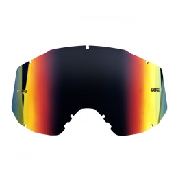 Recambio cristal gafas Enduro / MX Hebo Quantum - iridium rojo