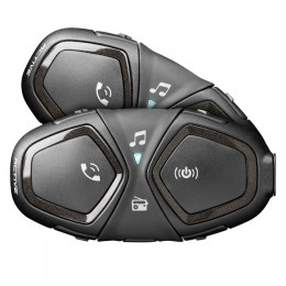 Pack 2 intercomunicadores moto Interphone Active bluetooth