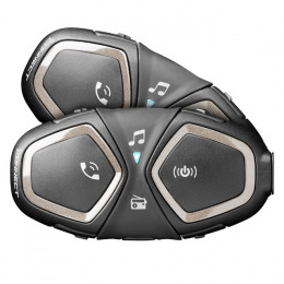 Pack 2 intercomunicadores moto Interphone Connect bluetooth