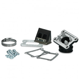 Sistema de admisión Minarelli AM6 pétalo doble carbono Italkit
