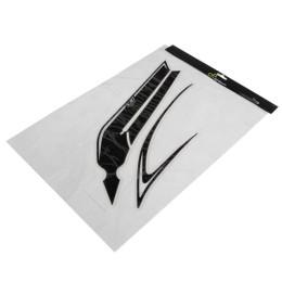Adhesivo, kit, lateral Boomerang LighTech, Blanco, para T-Max 530cc