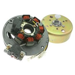 Encendido Motoforce, incl. Rotor, Stator, plato, Mina. vertical, para modelos con encendido YAMAHA (fabricados antes del 2003)