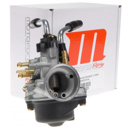 Carburador Motoforce Racing 17,5mm starter manual Minarelli horizontal Chiclé alta: 90 chiclé baja: 34 Aguja: A12