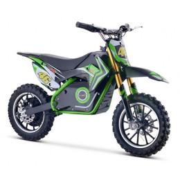 Minimoto eléctrica MTR XZE 500w color verde
