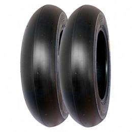 Juego de neumáticos 90/90-10 Slick PMT