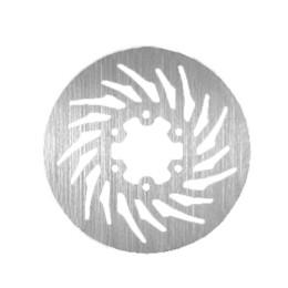 Disco de freno trasero NG BrakeDisc, Ø 218 x 57 x 3,5mm, Derbi DRD 50 EVO (2008-2009 )/ RACING SM ( - 2011) / X-TREME ( - 2011)
