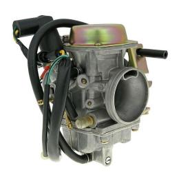 Carburador Naraku Racing 30mm (4T) Control de membrana, Maxiscooter y Pitbike 4T