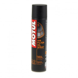 Spray mantenimiento filtro de aire Motul A2 Air-Filter-Oil-Spray, 400ml