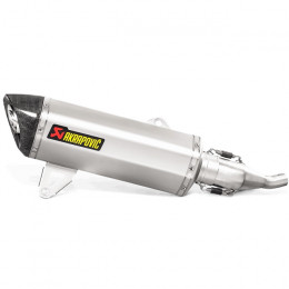 Escape Slip-On Line Yamaha YP X-Max 125 (17-20) (CE) Acero Inoxidable/Carbono Akrapovic