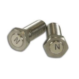 Tornillos magnéticos (2x) M8x1.25 / 29mm (para la utilización como señalizador) - Aprilia SR