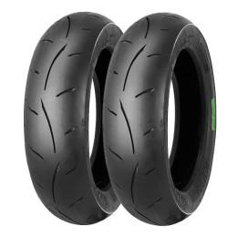 Juego neumáticos MITAS Racing MC35 MEDIUM incluye 2x 3.50-10 TL