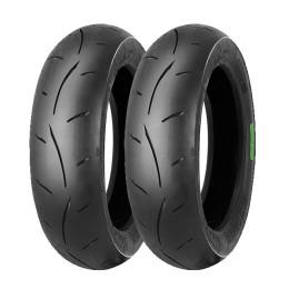 Juego neumáticos MC35 3.50-10 Mitas Pitbike y VESPA chasis grande