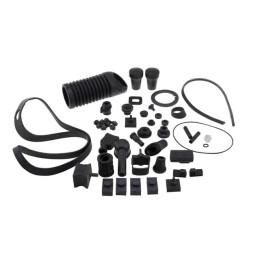 Gomas (kit) para chasis y motor SIP, Vespa PX, PE, IRIS