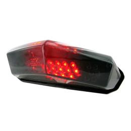 Piloto trasero con intermitentes STR8 LED blackline universal homologado CE