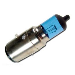 "Bombilla halógena ""Xenon"" STR8-Tuning! (BA20D - 12V 35W) - blanca/muy iluminosa"