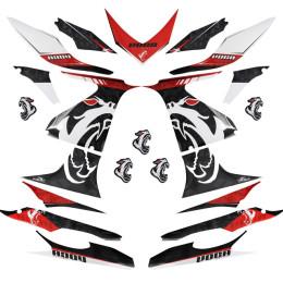 Kit pegatinas Voca Yamaha Aerox hasta 2012