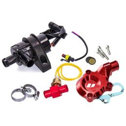 Kit bomba de agua eléctrica Minarelli AM6 Voca Racing, rojo