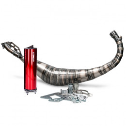 Escape Minarelli AM6 Voca Rookie 50/70cc (CE) silenciador Rojo