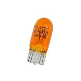Bombilla de posición OSRAM WY5W 12V/5W 2827, modelos Vespa PX 125/150/200 (freno de disco), naranja