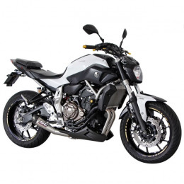 Escape Yamaha MT-07 Con silenciador cónico SC-Project