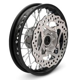 Llanta delantera 1.4x10 con disco Pitbike YCF >2020