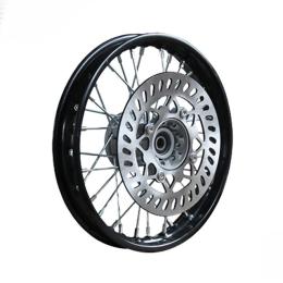 Llanta delantera 1.4x12 con disco Ø220mm Pitbike YCF >2020