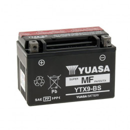 Bateria YTX9-BS Yuasa con ácido