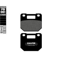 Pastillas de freno Pinza Voca/Stage6 4 pistones Galfer - Semi-metal