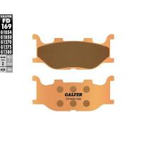 Pastillas de freno Galfer, sinterizada, delant. YAMAHA T MAX 500 4T LC 2004-07