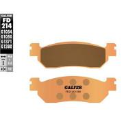 Pastillas de freno Galfer - sinteriz.(FD214G1380), trasero X-Max 250cc todas