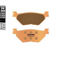 Pastillas de freno Galfer, sinterizada, trasera YAMAHA T MAX 500 4T LC 2001>2003