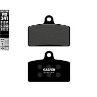 Pastillas de freno delanteras Galfer Derbi GPR 125 - Semi-Metal