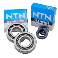 Rodamientos y retenes para cigueñal (Kit) NTN, Honda SH 100