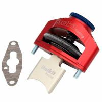 Válvula de escape neumática regulable para Cilindro rotax 122 Ø54mm Italkit