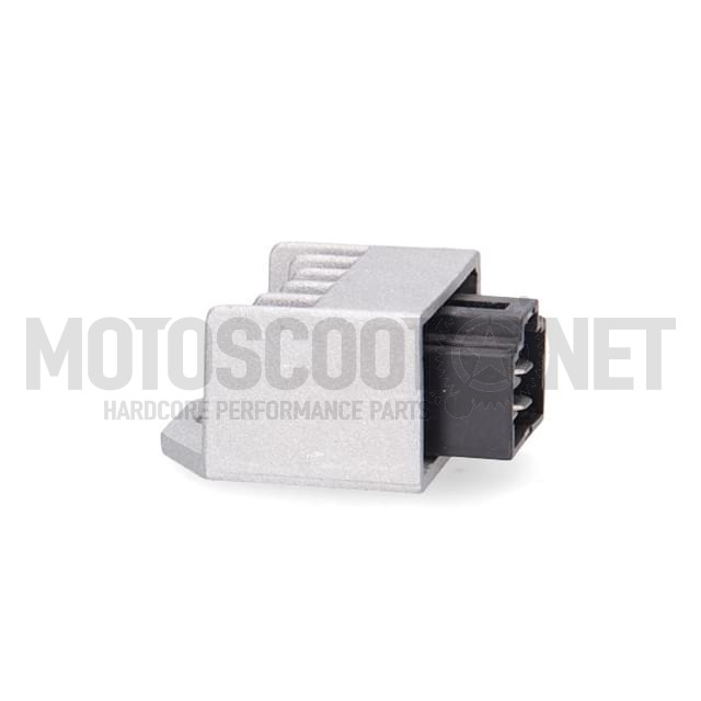 Regulador Minarelli scooter 12V CA/CC 4 pins Allpro ref: AP50CT10.166.1