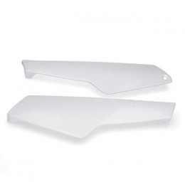 Tapa Lateral HP, Yamaha DT 50 LC (PAR) – Blanco
